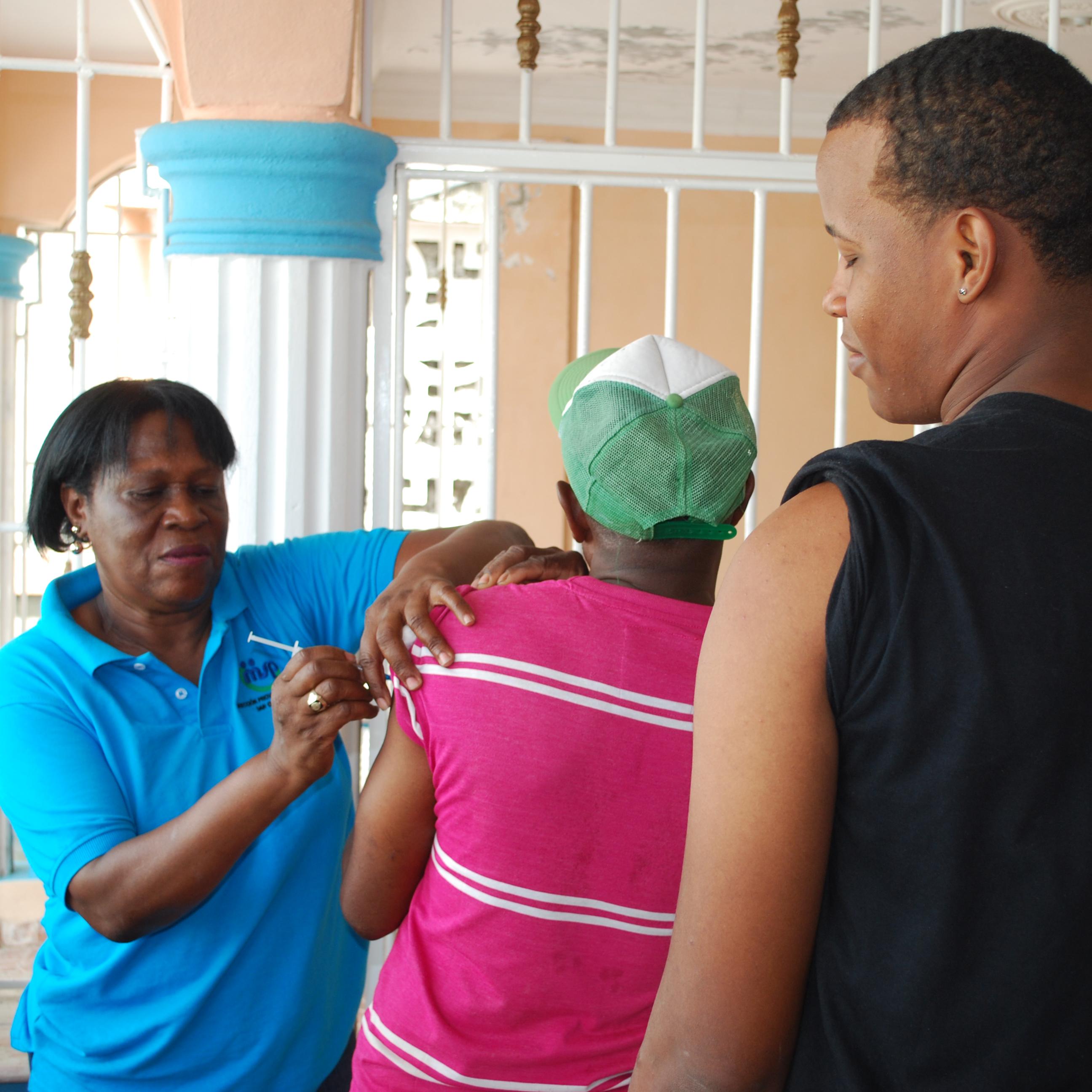Jornada de vacunación contra la Difteria