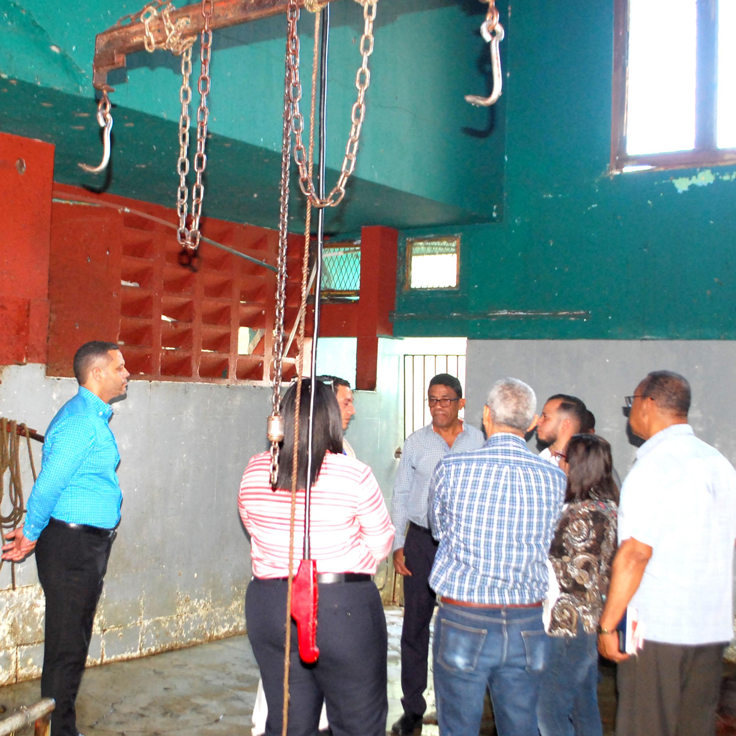 Recorrido por trabajos remodelación Matadero Municipal