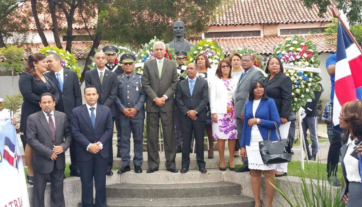Actos con motivo del natalicio del patricio Juan Pablo Duarte