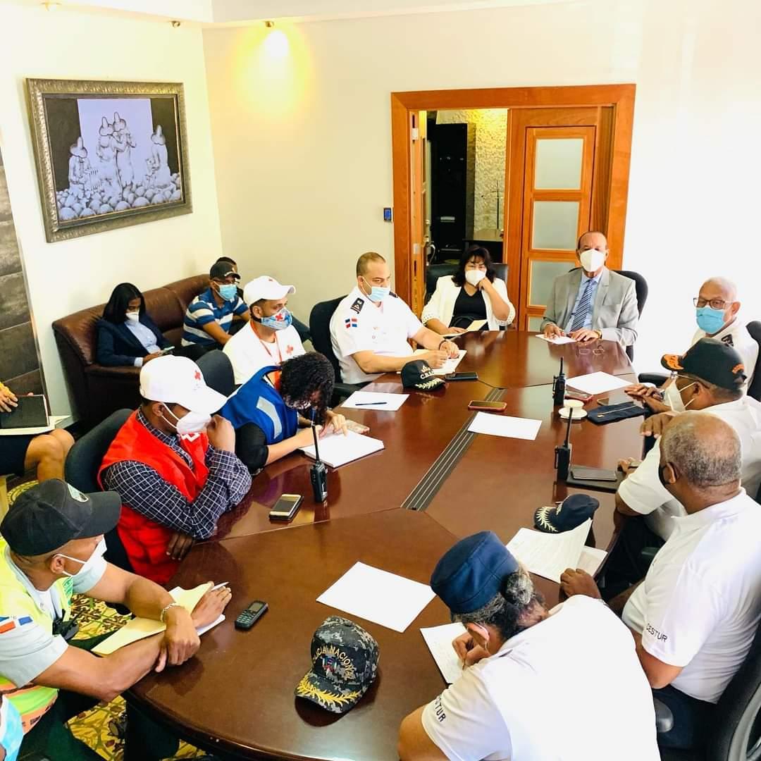 Ayuntamiento Municipal de San Cristóbal pone en marcha Plan Semana Santa 2021.