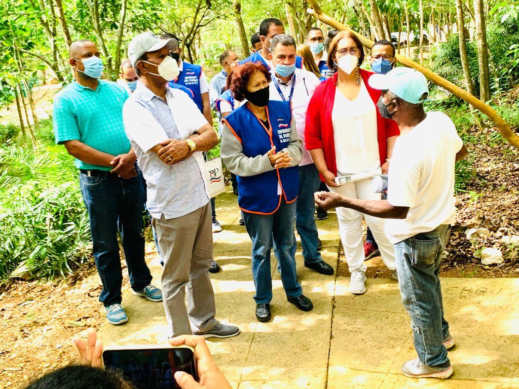 Defensora del Pueblo llama a la unidad para proteger las Cuevas del Pomier.